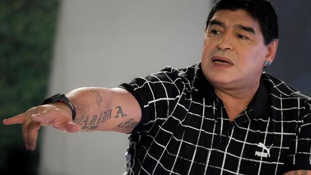 Maradona celebra bicampeonato de Boca Juniors y elogia al presidente del club