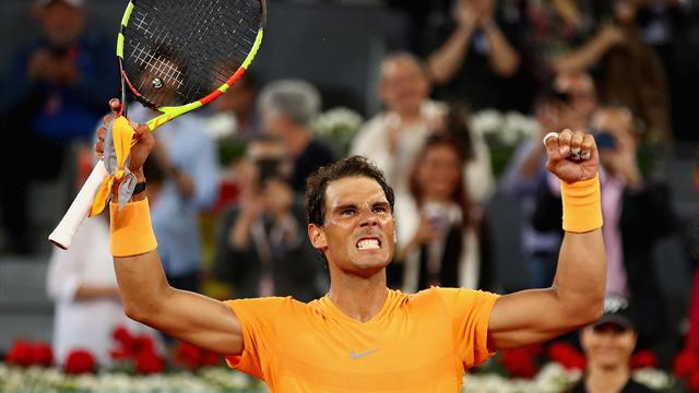 Un Nadal record poursuit son sans-faute