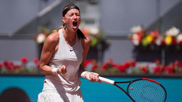 A Madrid, Kvitova est décidément comme chez elle