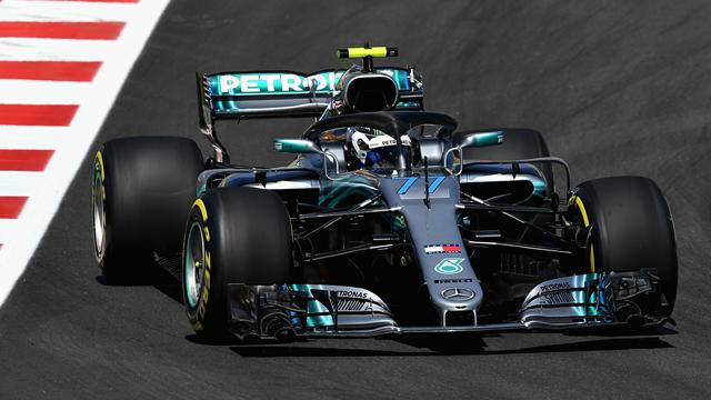 libres 1 mercedes devant ferrari grand prix d 39 espagne 2018 formule 1 eurosport. Black Bedroom Furniture Sets. Home Design Ideas
