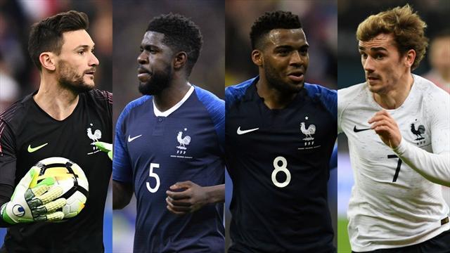 La rédaction a voté : voici nos 23 pour la Coupe du monde