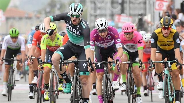 Giro d'Italia: 12. etape – 214 km med finale på ikonisk motorsportsbane