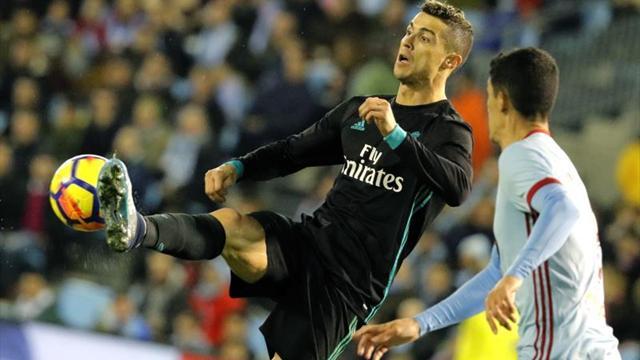 Real Madrid golea 6-0 a Celta en penúltima jornada en España