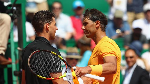 Thiem ends Nadal clay-court streak