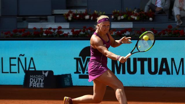 Bertens in waanzinnige vorm in aanloop naar Roland Garros