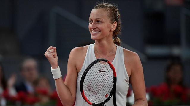 Kvitova ne s'arrête plus