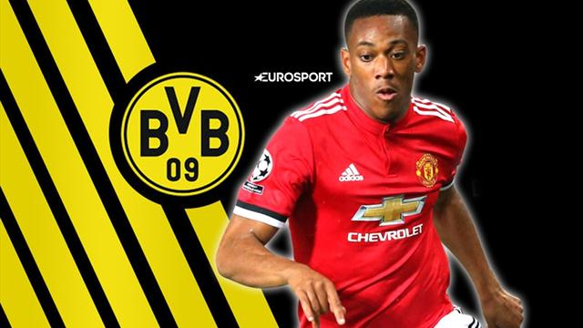 Euro Papers: Dortmund join chase for Martial