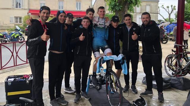 Contador en Eurosport: Así presenta Alberto a Carlos Rodríguez, el júnior de oro de su equipo