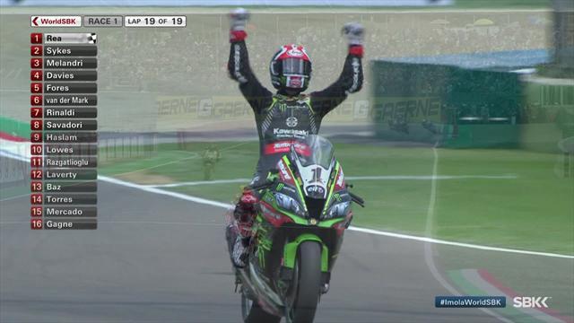 Superbikes GP Italia, 1ª carrera: Jonathan Rea se impone en Imola con mucha superioridad
