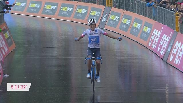 Giro de Italia 2018 (8ª etapa): Carapaz hace historia para Ecuador