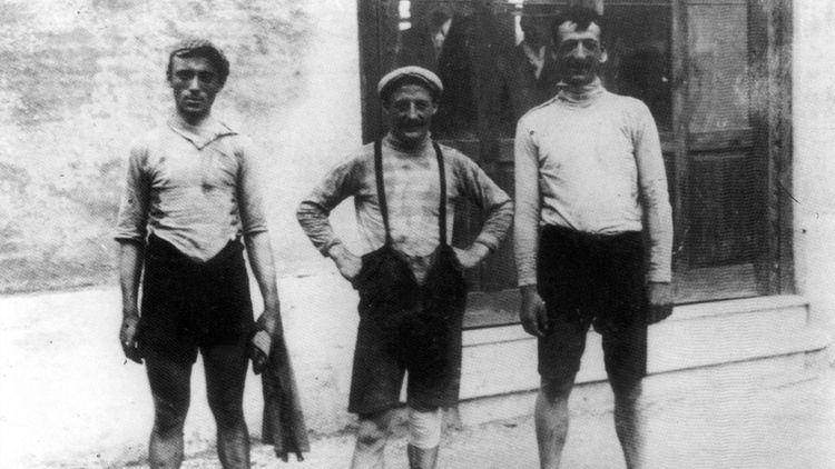 corridori del primo Giro d'Italia