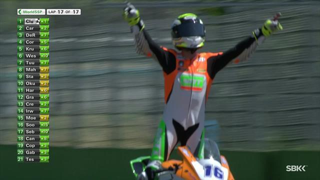 Superbikes SSP GP de Italia: Jules Cluzel logra su segunda victoria consecutiva en Imola tras Assen
