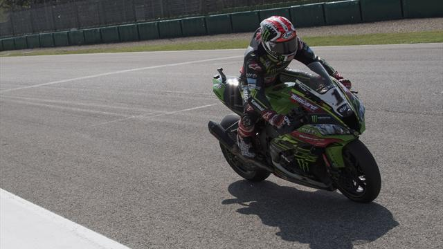 Rea clinches double at Imola and equals Fogarty's win record