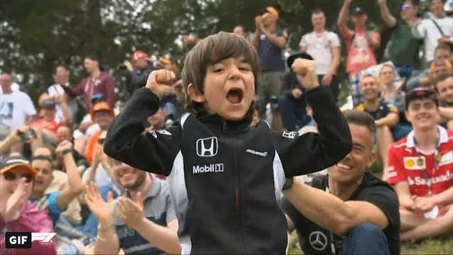 El pequeño fan que Fernando Alonso mandó buscar para conocerle