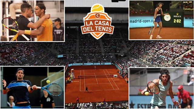 La Casa del Tenis (VIII): La derrota de Nadal en Madrid y el camino de la Armada hacia Roland Garros