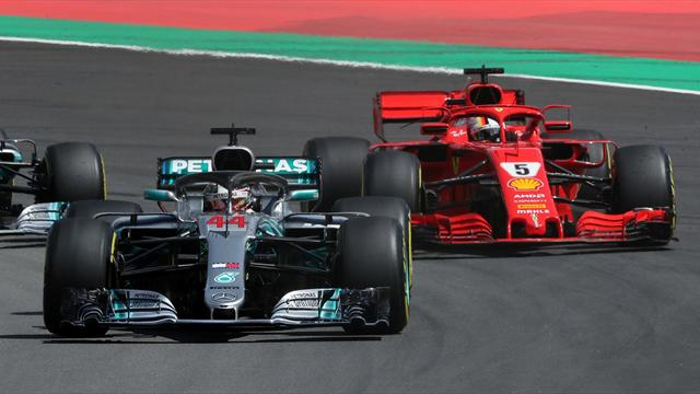 Spanish Grand Prix: Hamilton streaks home for 30th consecutive points finish