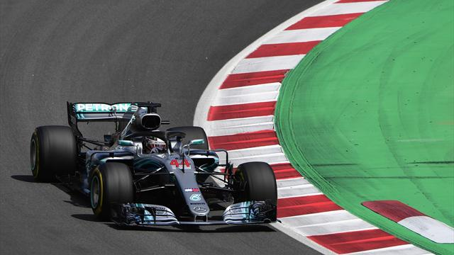 Hamilton dominates in Barcelona to lead Mercedes one-two