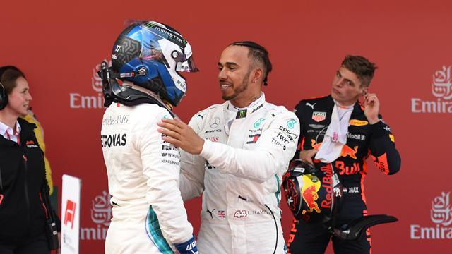 Le vent a tourné en faveur d'Hamilton et Mercedes