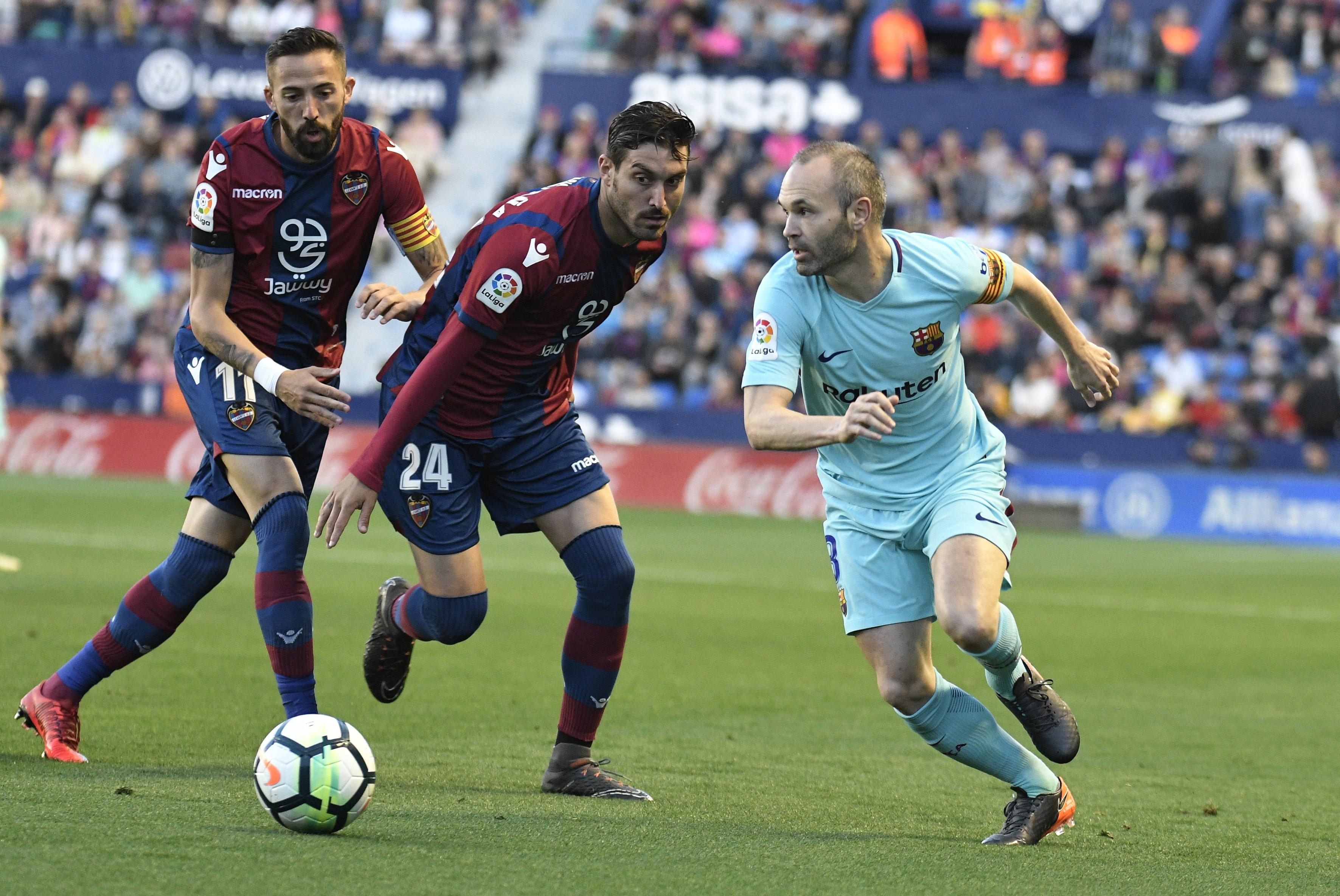 Андрес Иньеста («Барселона»), «Леванте»