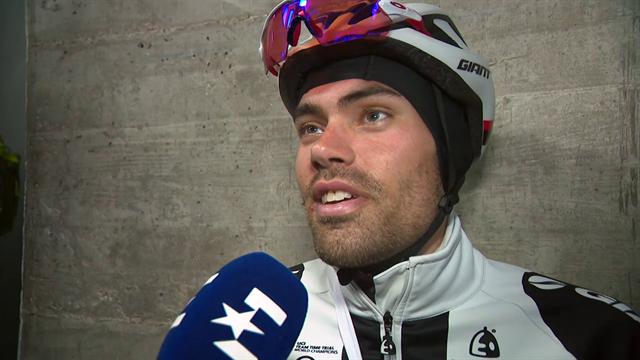 Tom Dumoulin na de Gran Sasso: 'Ik ben wel tevreden.'