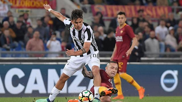 Le pagelle di Roma Juventus 0-0 Barzagli un muro Nainggolan rovina tutto