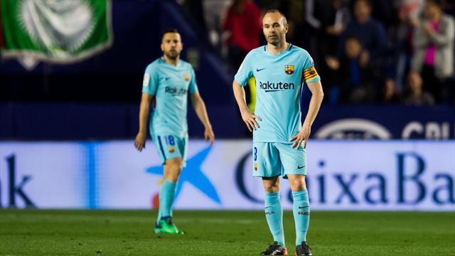 Le Barça a fini par tomber