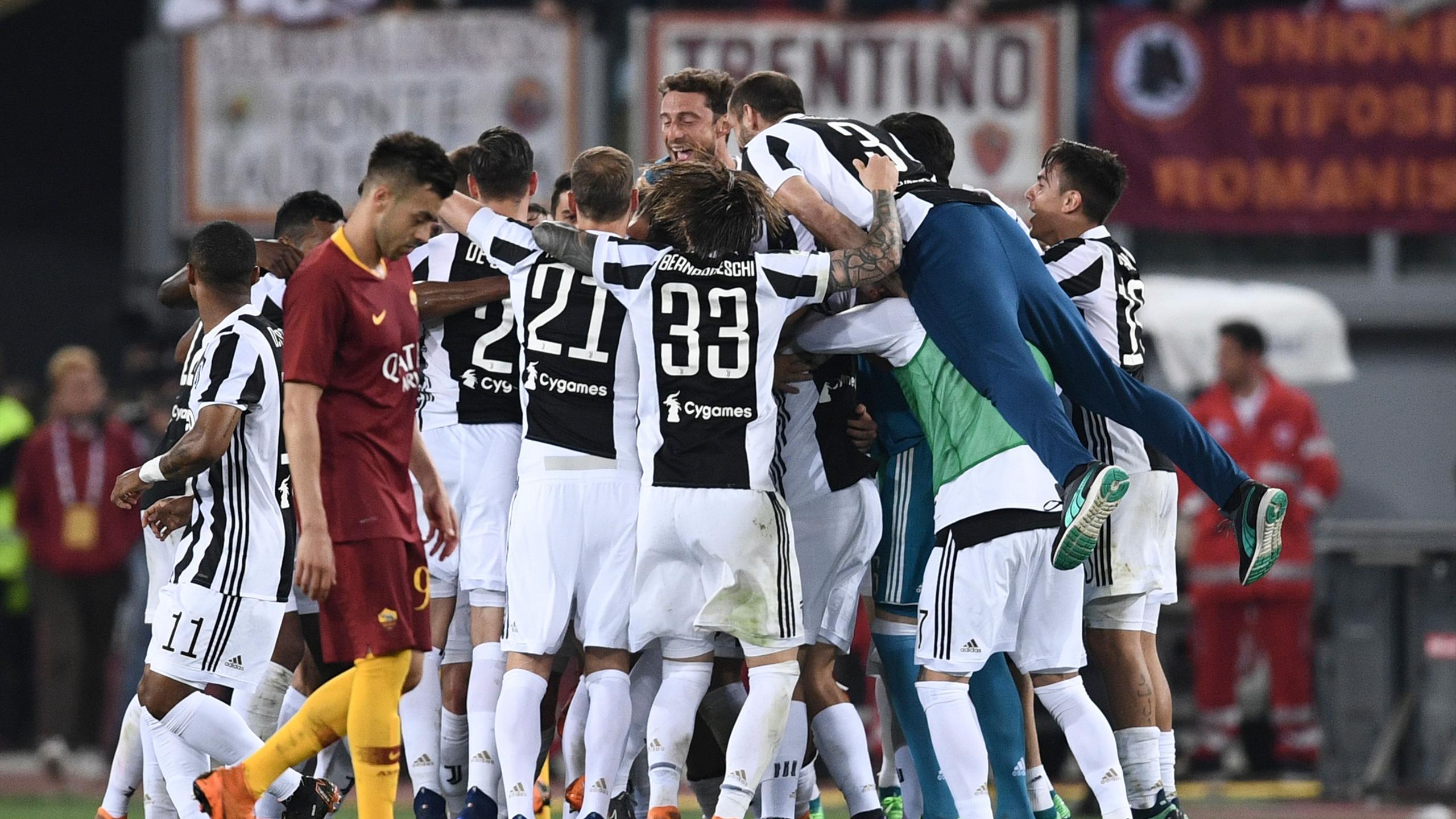 Juventus win seventh successive Serie A title - Eurosport