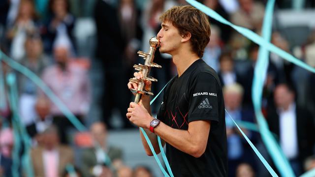 Quand Nadal n'est pas là, Zverev danse