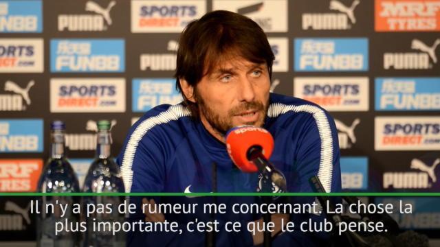 Conte : «Je suis engagé avec le club, c'est important pour moi»