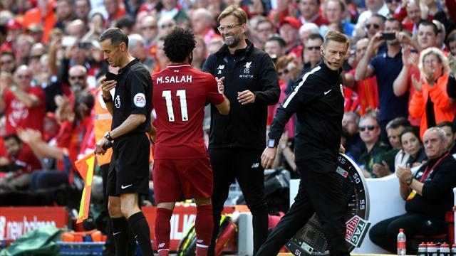 Klopp : «J'ai même pensé que Salah recevrait un prix pour être descendu de voiture sans accident»