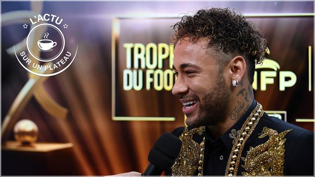 """Neymar, surprise, 3, """"Finvictus"""" : l'actu sur un plateau"""
