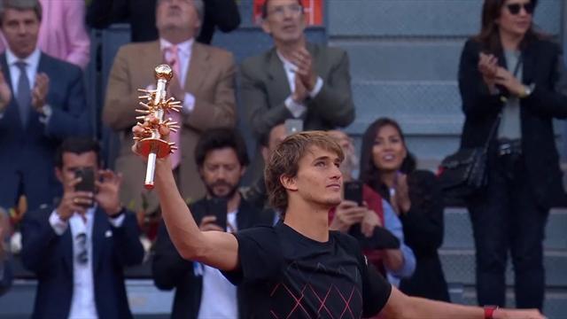 Zverev ograł Thiema, ósmy tytuł Niemca w karierze
