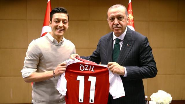 I have two hearts, one German and one Turkish - Mesut Özil