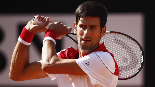 Djokovic makes light work of Dolgopolov in Rome