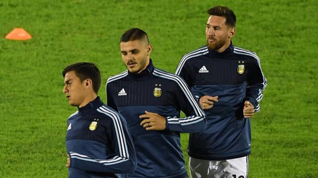 Дибала, Агуэро, Игуаин и Икарди попали в расширенный состав сборной Аргентины на ЧМ