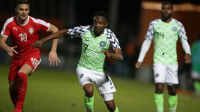 Муса иИдову— врасширенном составе сборной Нигерии наЧМ