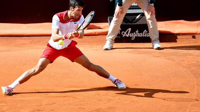 Djokovic, Carreño y Ramos pasaron la primera ronda en Roma