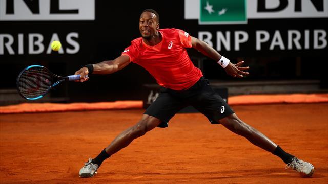 Expédié par Fabio Fognini, Gaël Monfils ne sera pas tête de série à Roland-Garros
