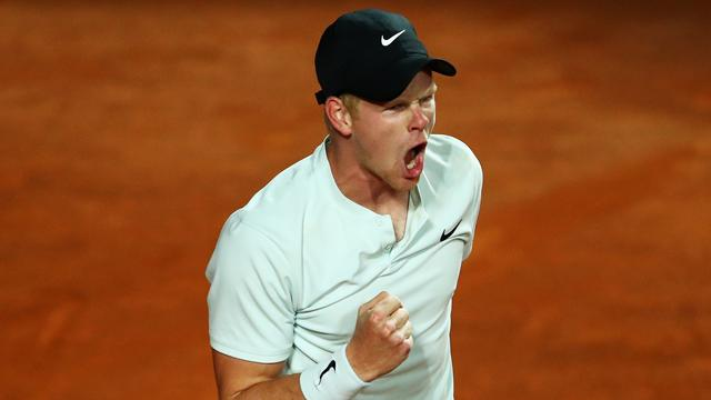 Edmund battles into second round of Rome Masters