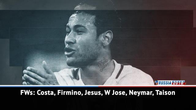 Le Brésil avec Neymar et Thiago Silva, sans Luiz Gustavo