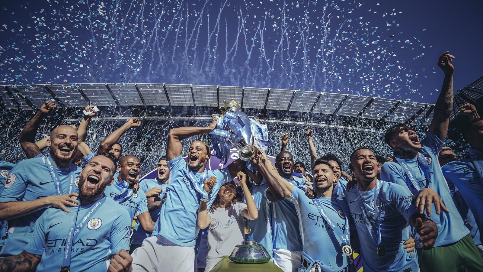 Чемпионство Манчестер Сити