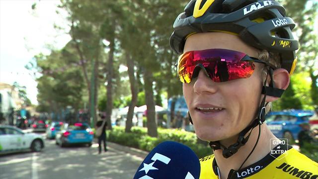 """Giro de Italia2018, Koen Bouwman: """"La primera subida será un guerra, el pelotón se va a cortar"""""""