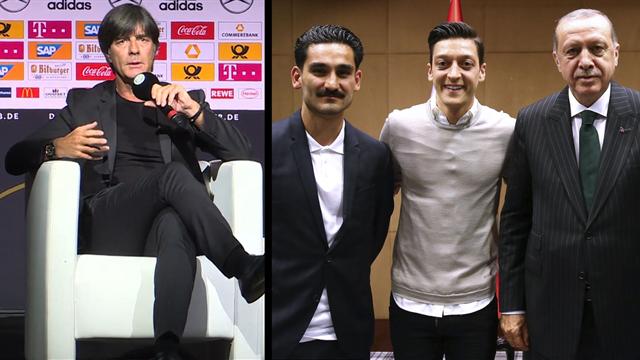Das sagt der Bundestrainer zur Debatte um Özil und Gündoğan
