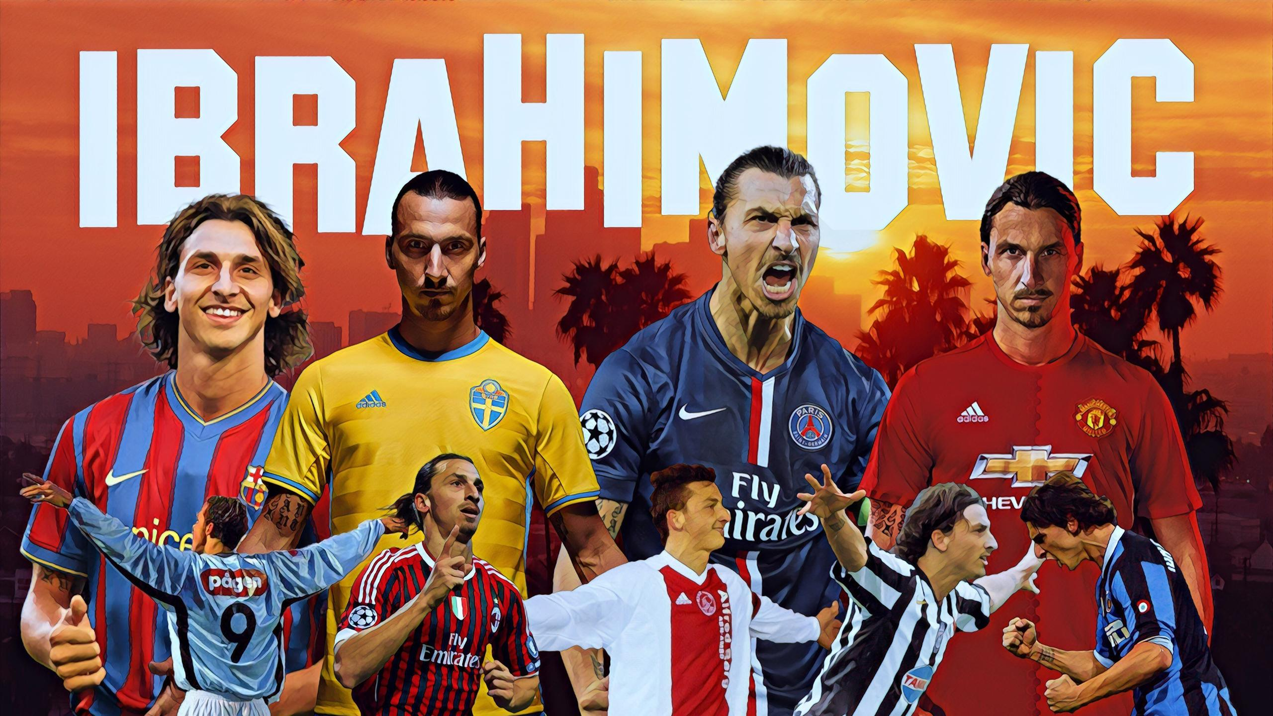 How Zlatan Ibrahimovic stole the show at the Europa League