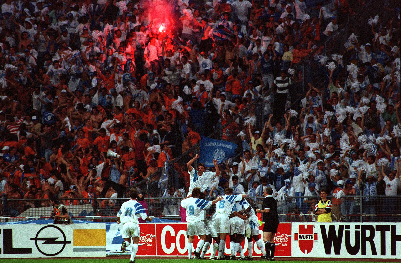 Basile Boli skjuter CL-titeln till Marseille 1993