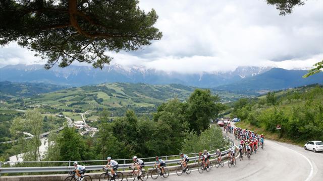 Giro d'Italia: etappe tien in vijf tweets!