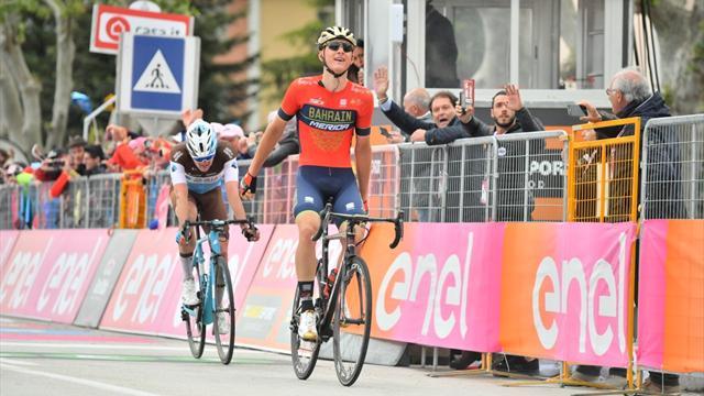Mohoric magistraal in tiende etappe Giro, Chaves verliest ruim 10 minuten