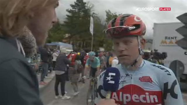 Mads Würtz efter led Giro-etape: Det var den hårdeste dag i mit liv