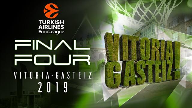 Eurolega: le Final Four 2019 a Vitoria-Gasteiz