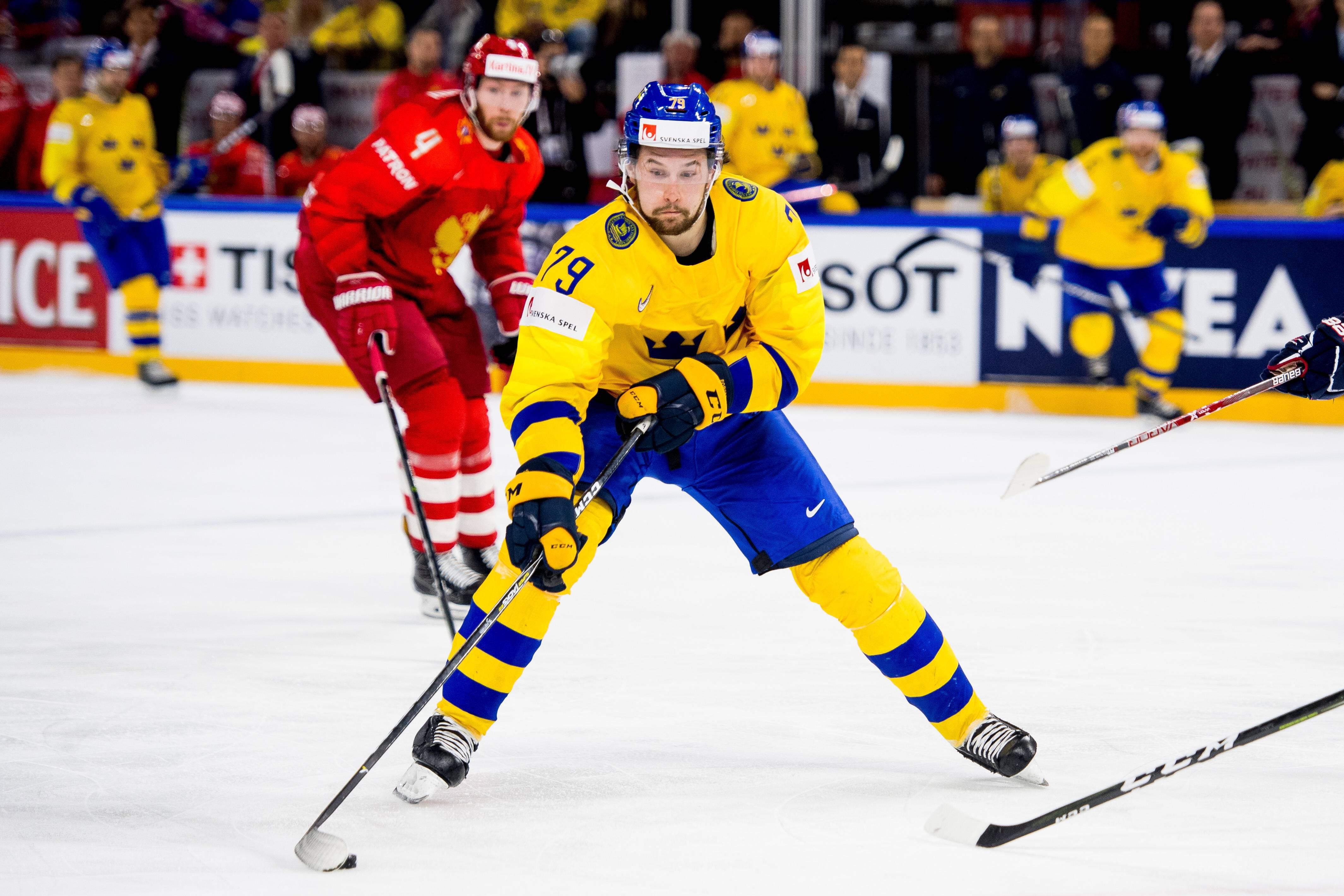Филип Форсберг, Швеция – Россия